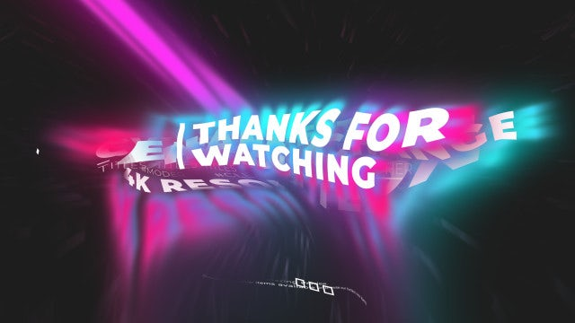 wavy glitch titles animation after effects templates motion array wavy glitch titles animation after