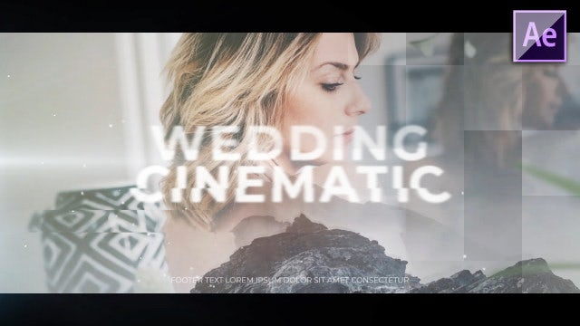Wedding Cinematic Promo: After Effects Templates