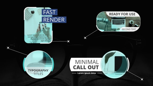 Modern Corporate CallOuts Titles: After Effects Templates