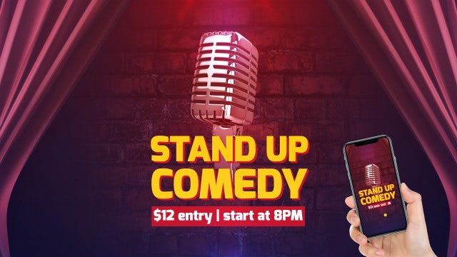 Stand Up Comedy: After Effects Templates