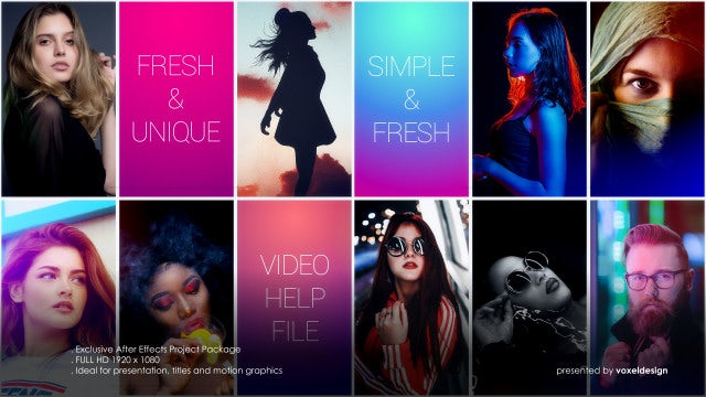 Multi Photo: After Effects Templates