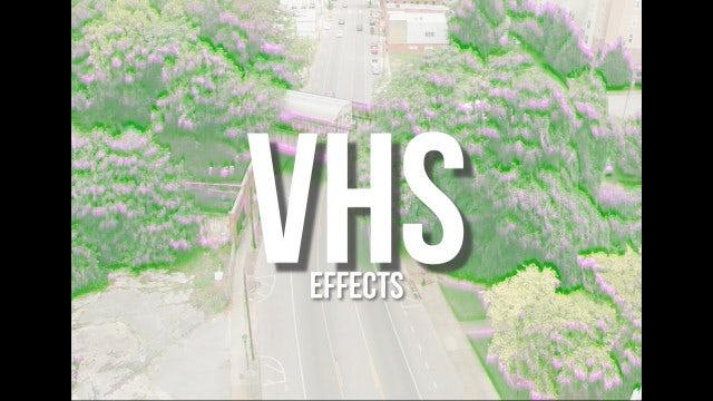VHS Effects: Premiere Pro Presets