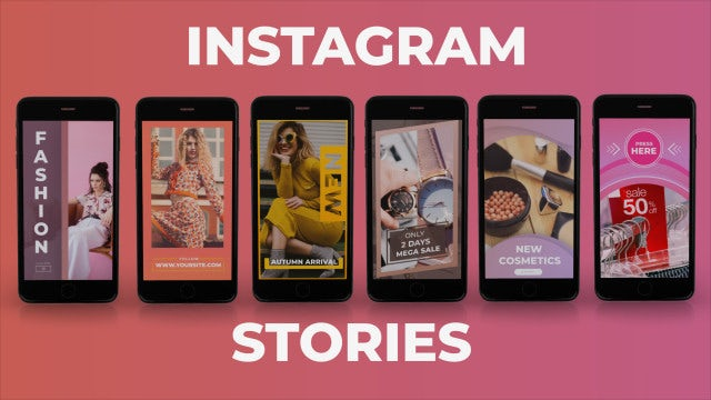 Instagram Stories Package: After Effects Templates