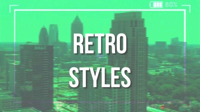 Retro Styles: Premiere Pro Templates