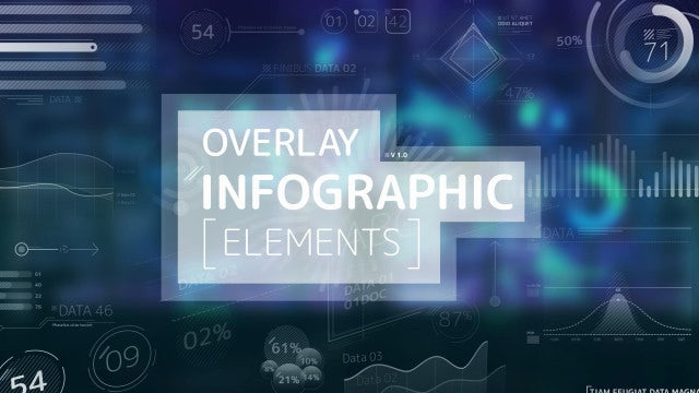 Overlay Infographic Elements: After Effects Templates