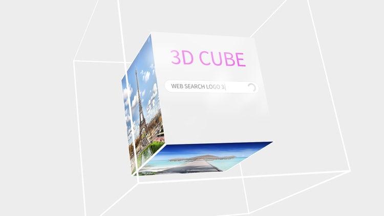 3D Cube Logo - Web Search: Premiere Pro Templates