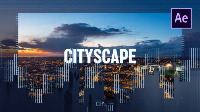 Cityscape Promo: After Effects Templates
