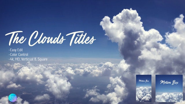 The Clouds Titles: After Effects Templates