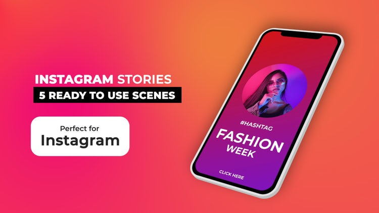 Instagram Stories V11.6: After Effects Templates