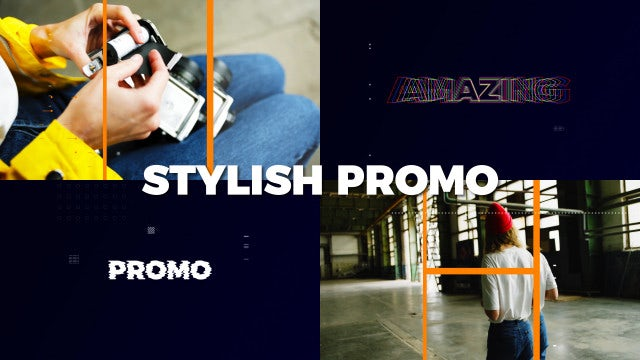 Modern Stylish Promo: After Effects Templates