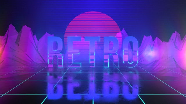 Retro Logo Opener: After Effects Templates