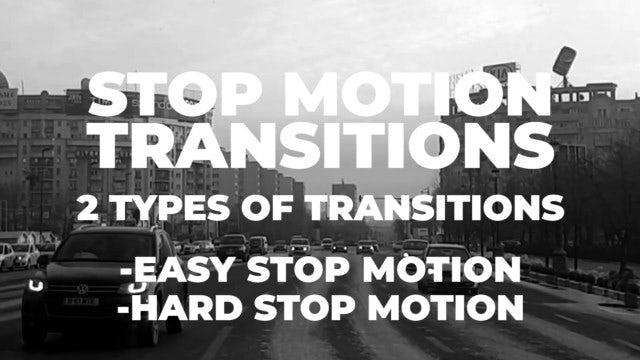 Stop Motion Transitions: Premiere Pro Presets