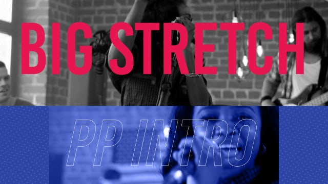 Big Stretch Intro: Premiere Pro Templates