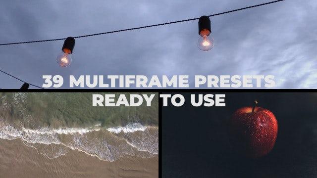 Multiframe Presets: Premiere Pro Presets