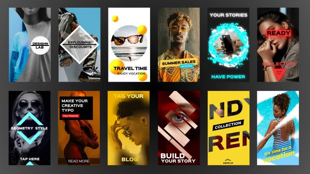 Fresh Instagram Stories: After Effects Templates