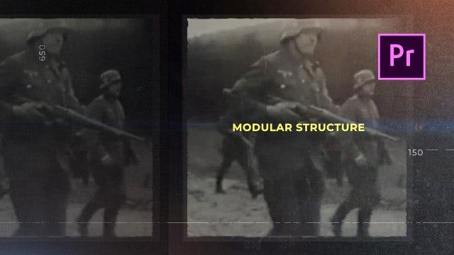 History Slides: Premiere Pro Templates
