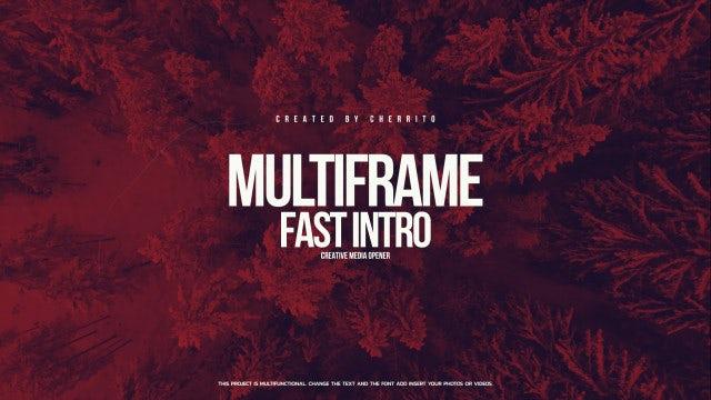 Fast Multiframe Intro: Premiere Pro Templates