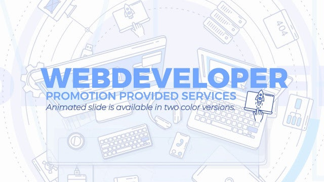Web Developer Promo Pack: Stock Motion Graphics
