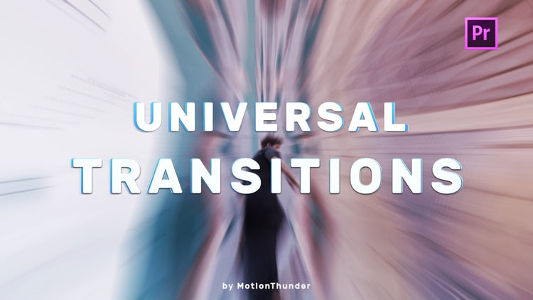 Transitions - Universal Seamless: Premiere Pro Presets