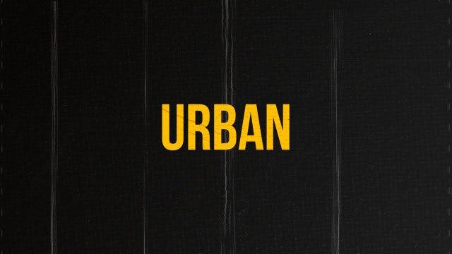 Urban Lifestyle: Premiere Pro Templates