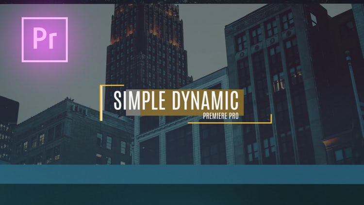 Simple Dynamic Slideshow: Premiere Pro Templates