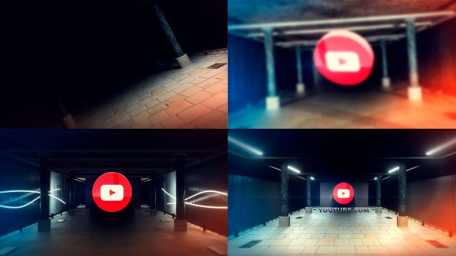 Unique Underground Logo: After Effects Templates