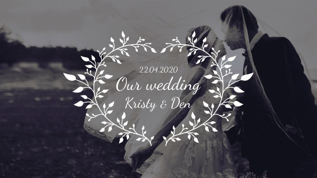 Beautiful Wedding Titles 4k: Premiere Pro Templates