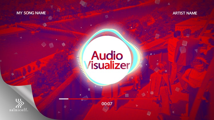 Audio Visualizer: After Effects Templates