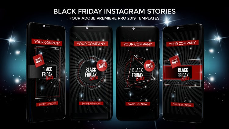 Black Friday Instagram Stories: Premiere Pro Templates