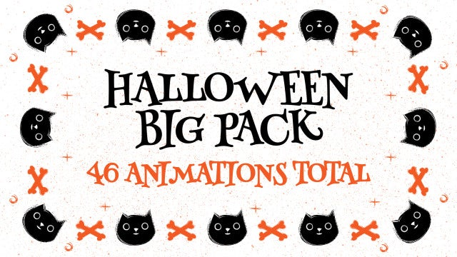 Halloween Big Pack: Premiere Pro Templates