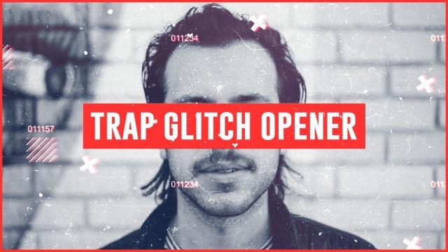 Trap Glitch Opener: Premiere Pro Templates
