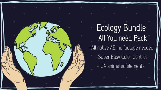 Ecology Bundle: After Effects Templates