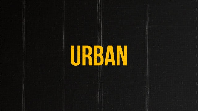 Urban Lifestyle: After Effects Templates