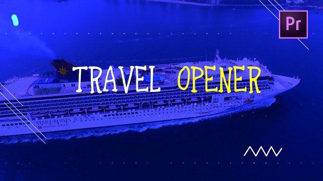 Travel Opener: Premiere Pro Templates