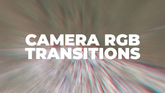 Camera RGB Transitions: Premiere Pro Presets
