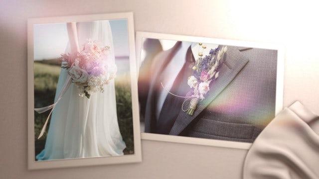 Save The Date Wedding Slideshow: Premiere Pro Templates