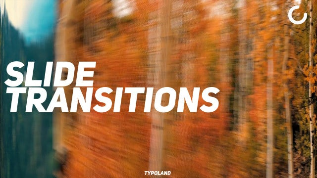 Slide Transitions: Final Cut Pro Templates