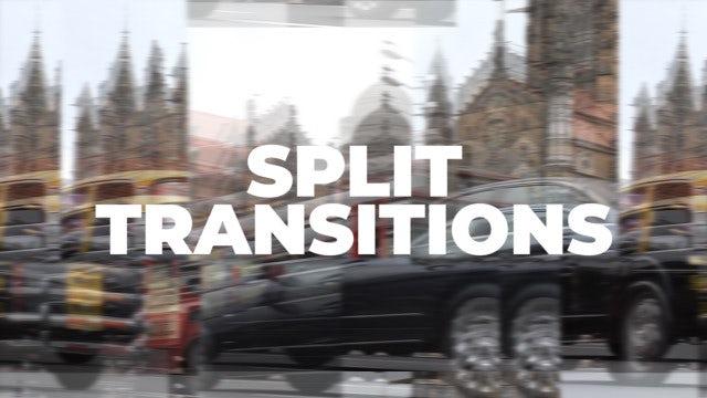 Split Transitions: Premiere Pro Presets