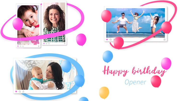 Happy Birthday Opener – After Effects Templates | Motion Array Free Download