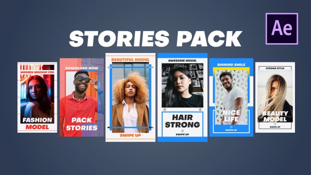 Stories Pack: After Effects Templates