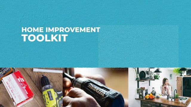 Home Improvement Toolkit: Premiere Pro Templates