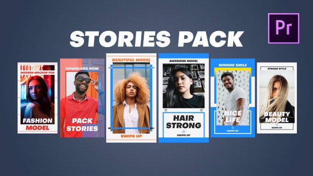 Stories Pack: Motion Graphics Templates