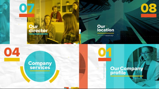 Corporate Opener Presentation: After Effects Templates