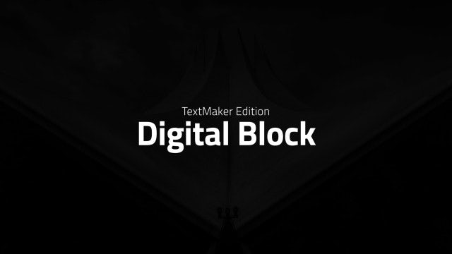 Titles Animator - Digital Block: After Effects Templates