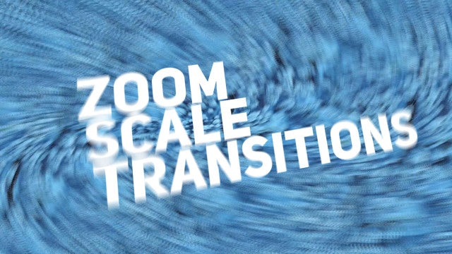 Scale Zoom Transitions: Final Cut Pro Templates