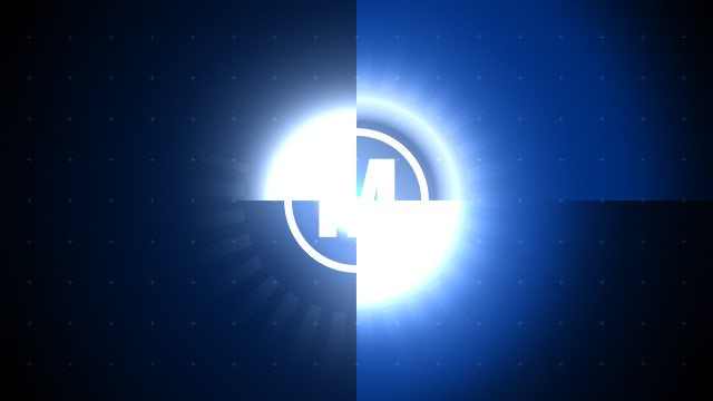 Digital Countdown Logo: Premiere Pro Templates