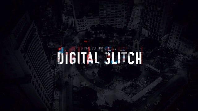 Titles Animator - Digital Glitch: Final Cut Pro Templates