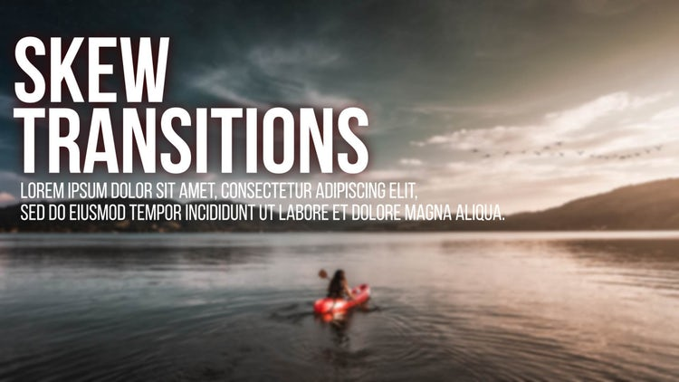 Skew Transitions – After Effects Presets | Motion Array Free Download