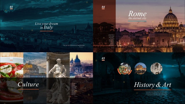 Travel Agency Opener Presentation: After Effects Templates