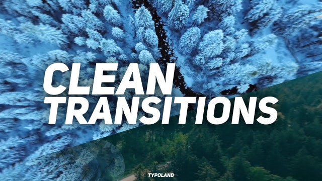 Clean Transitions: Final Cut Pro Templates